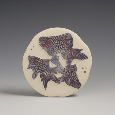 Moor fish small wall hanging