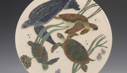 Sea Turtles & Jelly Fish - Tiffany Scull
