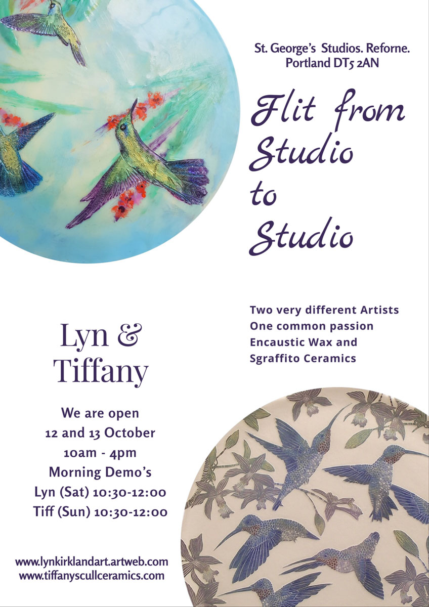 Flit from Studio to Studio this October