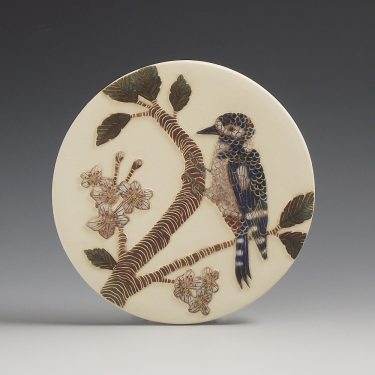 woodpecker wall hanging